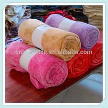 Custom 2015 Solid Blue Blanket Bedding Throw Fleece Full Queen Super Soft New Classic Premium 100% Cotton Blanket King