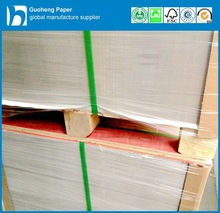 100% Recycled Waste Pulp Grey Cardboard Paper for Boxes Packages