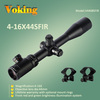 4-16X44SFIR riflescope Mil-Dot dual illuminated Reticle Lockable Target Turrets Side Parallax Wholesale Voking/OEM rifle scope