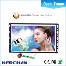 pop display ad monitor back mounting oem advertising player