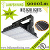 Wall mount SGS 90W outdoor led flood light projector lamp