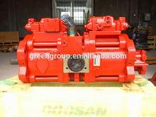 Hyundai r200lc-7w pompe hydraulique, r200-7w d'excavatrices pompe principale, 31n6- 10100,70z k3v112dp- 118r- 9s09,31n6- 15010 principale pompe assy
