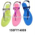 nuevo diseño de moda las sandalias de las señoras zapatos 2014 para venta al por mayor
