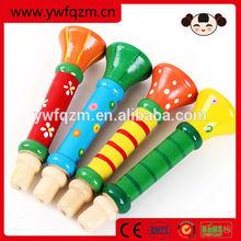 Educational Toys Wooden Mini Trumpet
