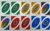 Plastic Poker Card vinyl game mat