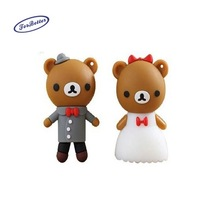 cartoon bear usb flash drive,animal usb,wedding gift usb 128MB - 64GB