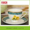 Shenzhen factory porcelain tea cups and saucers cheap blank bottle