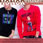 mens t -shirt inspection/polo garment qc inspection service/casual outwear coat for man quality check