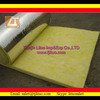 chinese good quality house roof and wall heat resistant material fiber glass wool panel batts