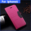 New Arrival For i phone 6 case, for i Phone 6 leather case