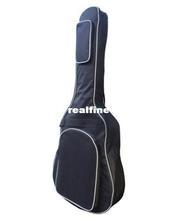 "Details about Black Thick Foam 41"" Guitar Gig Bag Cover Soft Case Padded 2 Straps 2 Pockets"