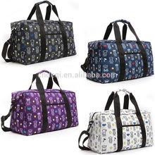 Custom Printed Gym Shoulder Bag Camping Casual Travel Sport Golf Duffel Women