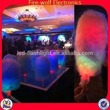 Custom Rainbow 4.5*40Cm Led Cotton Candy Stick Wedding Accessory/Party Rainbow 4.5*40Cm Led Cotton Candy Stick Wedding Accessory