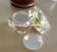 30 ml, 50 ml clear crystal feeling acrylic cream jar / beauty packaging