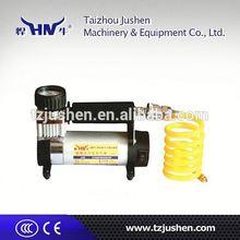 car air compressor self priming portable car tyre air pump