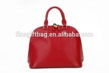 China bag factory OEM Brand Handbag OEM Female Real Leather Shoulder Bag