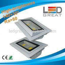 Best quality Shenzhen LEDGreat 20W 30W 40W Citizen/Sharp/Lustrous COB square led downlight