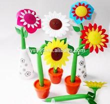 Creative Customized Colorful Sunflower Pen STP-245483