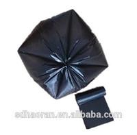 black HDPE plastic garbage bag manufacturer plastic trash bag ldpe garbage bags