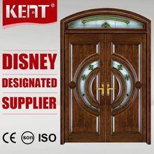 KENT Doors Top Level New Promotion Wooden Door Grill Design Cheapest Price