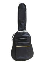 "Details about New 41"" Guitar Soft Case Bag Fit Acoustic Guitar Padded Straps Case wearproof"