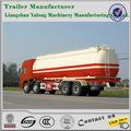25- 74m3 usado a granel de cimento caminhão, carbononegro cimento transporte reboque para venda