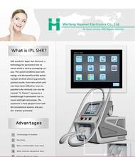 Professional Elight SHR IPL machine permanent hair removal / IPL machine with big spot / SHR IPL machine for home use