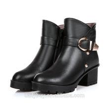 2014 üst deri ayakkabı İtalyan kışlık botlar kadın