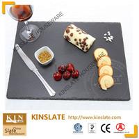 hygienic slate dinner plate for restaurant