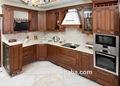importação da china armário de cozinha em madeira maciça