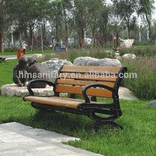 Qualitified Garden park bench slats/airport bench chair/outdoor indoor leisure bench/HMY-037