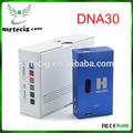 Nuevo 2014 vape mod hana modz 18650 dna30 caja mod, vatios 30 ecig caja v3 ecig mod dna modelo