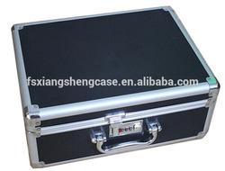 black aluminum instruments case for tools