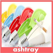 2014 newest Promotional home glass crystal ashtray/custom logo hotel crystal ashtray
