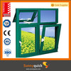 Double glass Aluminum Tilt Open Window with energy saving system