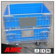 folding storage cage