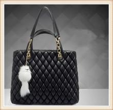 2014 cute lady fashion bag /genuine leather handbag fashion shoulder bag / wholesale lady hand bag