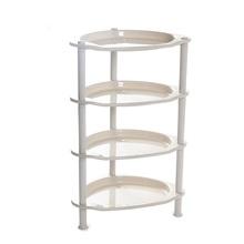 Plastic bathroon corner r storage shelf rack and organize