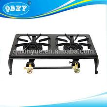 2 burner cast iron gas stove brand new