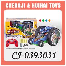 4CH plastic kid rc tumbler stunt car wholesale toy