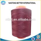 100% polyester yarn FDY DTY twisted yarn on plastic tube
