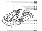 250cc off road manual go kart