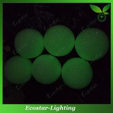 Fluorescent Golf Ball for Dark Night Play