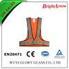 100% polyester EN 20471 reflective safety purple work vest