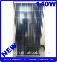 18v 140w poly solar panel in Afghan market