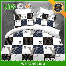 wedding bed sheet set/modern bed sheet sets/brands bedding set