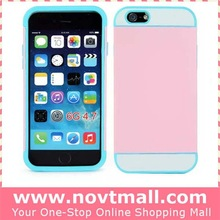 2014 cheapest candy color ultra thin pc phone cover for iphone 6 case