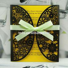 2015Teda FC-025 Wedding Decoration & Gift Use and Europe/ America/Korea/China Regional Feature bengali wedding invitation card