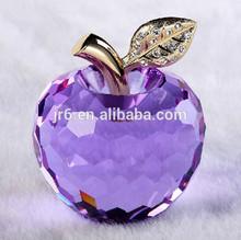 wholesale cheap crystal apple wedding favors