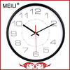 Professtional Clock Factory Wholesale Round Metal Clock